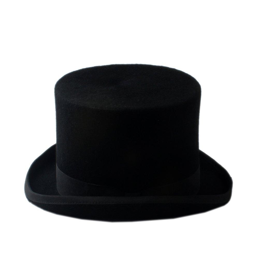 Vari Stili 6.7inch Cappello da Esterno Steampunk Mad Hatter Cappello Top Vittoriano Vintage Lana Fedoras Cappello Cilindro Cappello Cappello Cappello 17CM