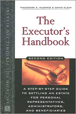 Book The Executor's Handbook (Facts on File Personal Law Library)