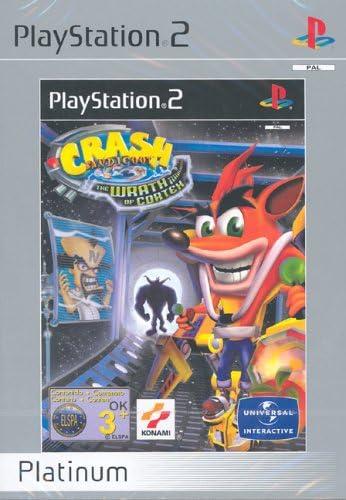 Vivendi Crash Bandicoot - Juego (PS2, PlayStation 2, Plataforma, E (para todos)): Amazon.es: Videojuegos