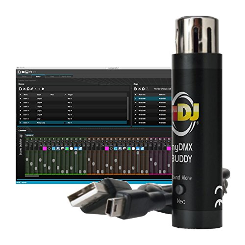 AMERICAN DJ myDMX Buddy USB Computer Software LED DMX Light Controller Interface