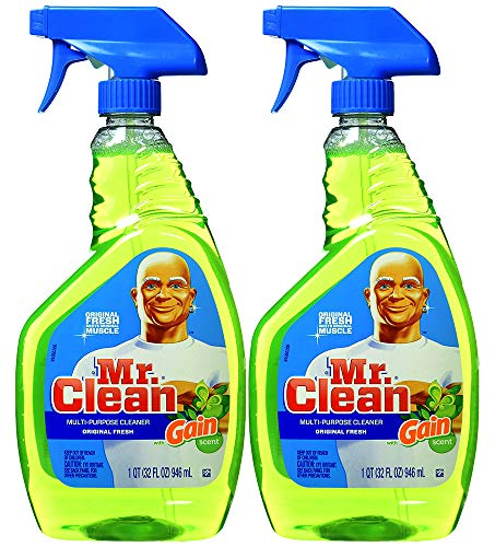 Multi Surface Cleaner (Mr. Clean with Gain Original Fresh Scent Multi-Surface Cleaner 32 Ounce (Pack of 2))