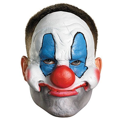 Chinless Dark Skull Adult Vinyl Mask - Disguise Costumes Chinless Evil Clown Vinyl