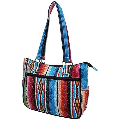 NGIL Serape Hobo Handbag Fashion black Style Quilted wqwfgnO8