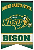 NCAA North Dakota State Bison Premium Felt 17/26-Inch Banner