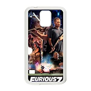 Furious 7 FG0022096 Phone Back Case Customized Art Print Design Hard Shell Protection SamSung Galaxy S5 G9006V