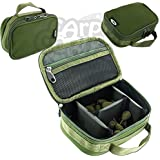 0bf26446a73 New NGT Carp Fishing Tackle Lead Accessory Bag With 3 Way Velcro Rigid  Dividers
