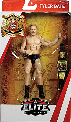 Tyler Bate - UK Champion Exclusive WWE Elite Mattel Toy Wrestling Action Figure by WWE