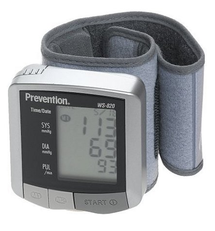 Prevention WS-820PV Wrist Blood Pressure Monitor (Blood Wrist Monitor Prevention Pressure)