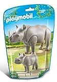 Playmobil - 6638 - Le Zoo -Rhinocéros