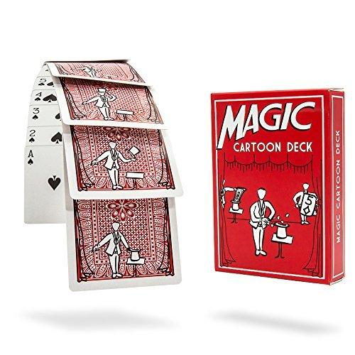 Magic Makers Magic Cartoon Deck ()