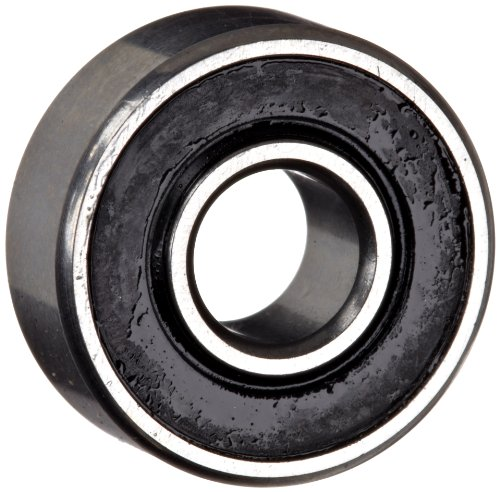 Mrc Ball Bearings - MRC R8ZZ Small Ball Bearing, Double Sealed, No Snap Ring, Inch, 1/2