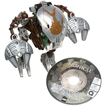 Amazon.com: Lego Bionicle Bohrok-Kal Pahrak-Kal (BROWN) #8577: Toys ...