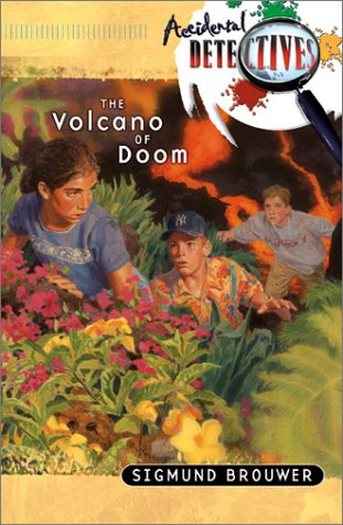 book cover of The Volcano of Doom