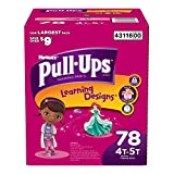 Huggies Pull-ups Training Pants for Girls,size: 4-5t; 72 Count