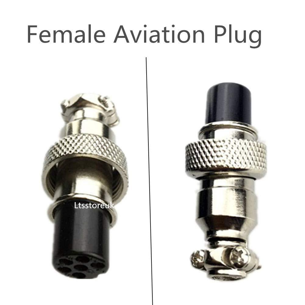 confezione da 15 12/mm 6PIN Plug