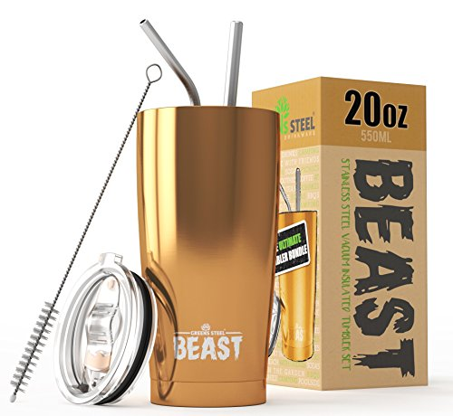 BEAST 20 oz Tumbler Stainless Steel Vacuum Insulated Rambler