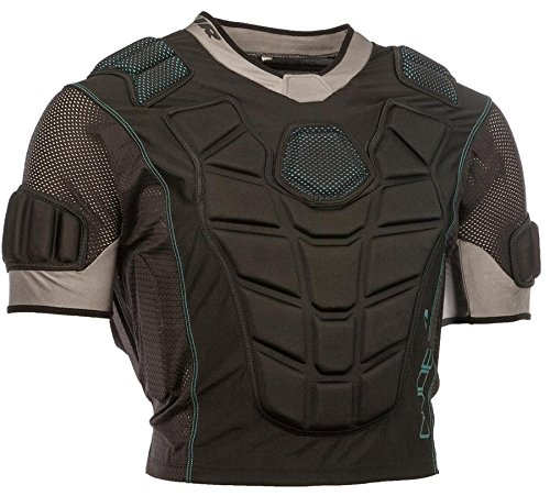 Tour Adult Code 1 Inline Hockey Upper Body Protector Size: Small Black