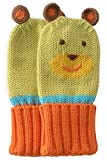 Joobles Organic Baby Mittens - Huggy the Bear (0-6 Months)