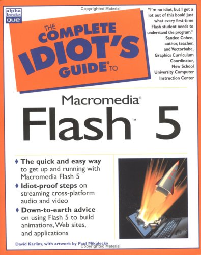 Complete Idiot's Guide to Macromedia Flash 5 pdf