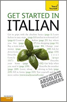 Book Teach Yourself Get Started in Italian (Teach Yourself Beginner's Languages)