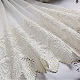 FADFAY Home Textile,Luxury Brand Lace Embroidered Curtains,Designer Short Curtains For Kitchen,Elegant Chinese Curtains