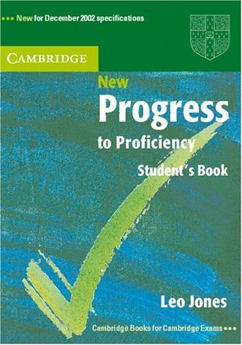 New Progress to Proficiency/Student's Book without answers