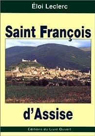 Saint François d'Assise par Eloi Leclerc