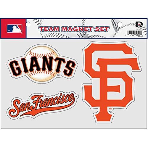 Rico MLB San Francisco Giants Team Magnet Set