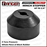 "Ranger ATV, UTV, Jeep, Pickup, Truck Winch Stopper Line Saver for 3/16"", 1/4"", 5/16"", 3/8"" Synthetic or Wire Rope for Winch by Ultranger"