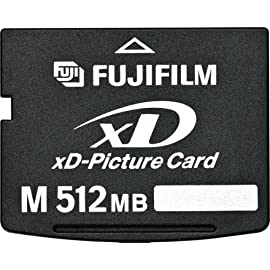 SanDisk 512 MB Type M xD-Picture Card ( SDXDM-512, Retail Package) 1 512 MB capacity Panorama feature supported in all Olympus stamped xDM cards High Data transfer speed