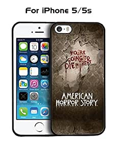 American Horror Story Quotes Protective Tough Hard Plastic Funda Case Skin For Iphone 5 5s - By AHSGAV