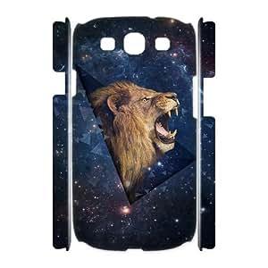 Lion Custom 3D Cover Case for Samsung Galaxy S3 I9300,diy phone case ygtg541715
