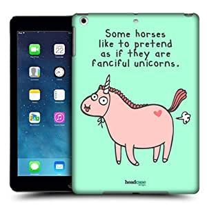 Head Case Designs Pretentious Horse The Secret Life of Fantastic Animals Protective Snap-on Hard Back Case Cover for Apple iPad Air