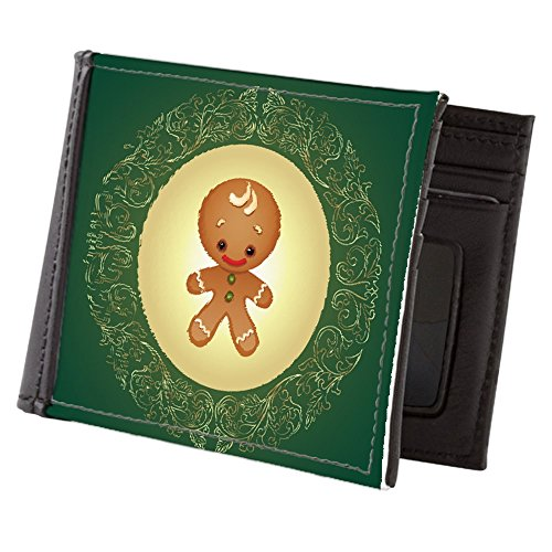 Wallet Chistmas Truly Men's Teague Men's Gingerbread Truly Man Billfold Cuties Teague Xw7qH0w