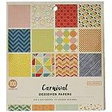 ColorBok 71854Carnaval–Papel para Manualidades 15,2x 15,2cm