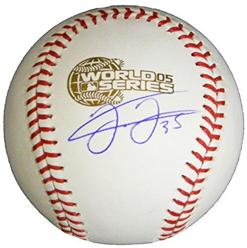- Frank Thomas Signed Baseball - Rawlings Official 2005 World Series - Autographed Baseballs