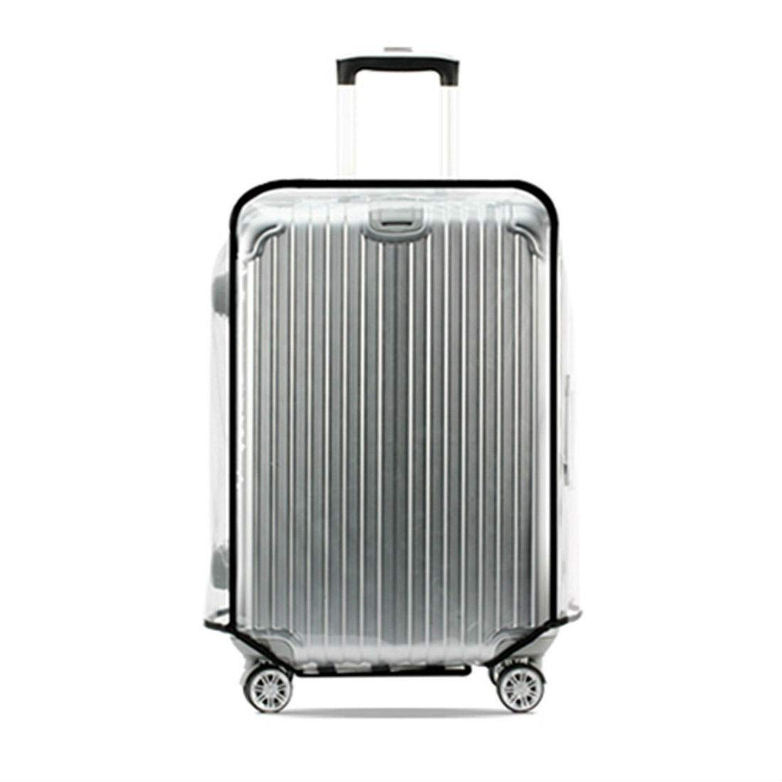 Waterproof Clear Transparent Luggage Suitcase Cover Case Protector Travel 20-28'' (24'')