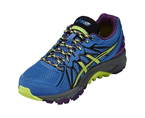 ASICS Gel-Fujitrabuco 3 - Zapatillas de deporte para mujer BLUE/YELL/PURP