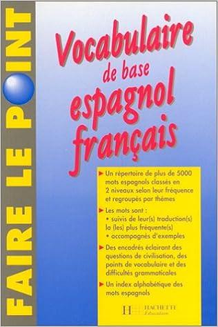 Amazon Fr Vocabulaire De Base Espagnol Francais Henri Labarde