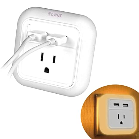 Amazon.com: iWireless USA: Salida para Baño, Dual USB ...