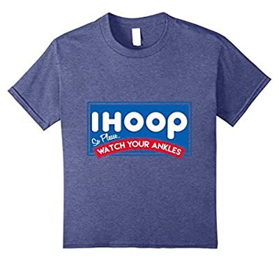 ihoop Watch Your Ankles Basketball T-Shirt Ballers Funny Tee