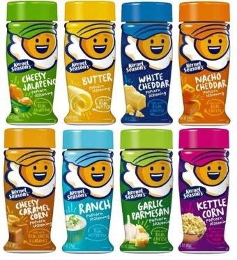 Kernel Season's Complete Popcorn Seasoning Kit All the Favorites (8 Pack)