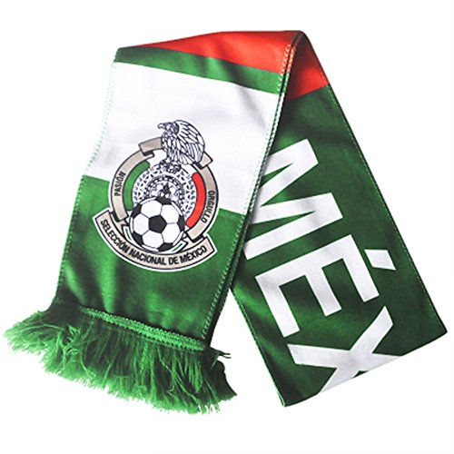 Mexico Scarf - 2018 World Cup Fans Scarves Scarf Football Scarves (fans scarves-Mexico)