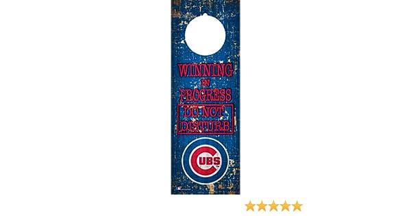 Fan Creations NCAA Ohio State Buckeyes 4 x 12 Winning in Progress Do Not Disturb Door Hanger