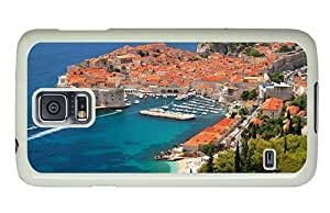 Hipster Samsung Galaxy S5 Case on sale cases Croatia Dubrovnik PC White for Samsung S5