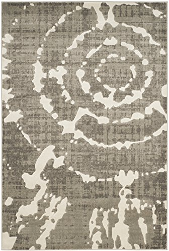 Safavieh Porcello Collection PRL7735E Grey and Ivory Area Rug (4'1