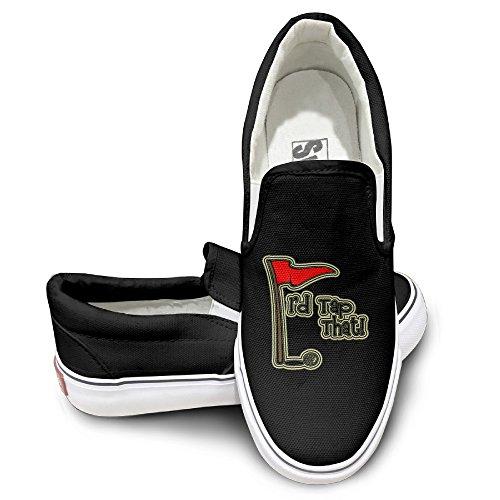 Deamoon Destinations Activewear Unisex Flat Canvas Shoes Sneaker Black 44