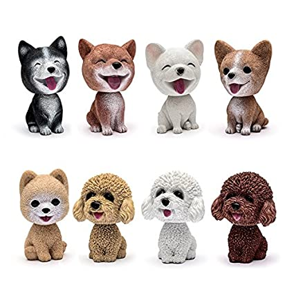 drivworld Premium Shaker Dog Car Accessories Toy Car for Doll Car Swing Dog Cartoon Gift Resin