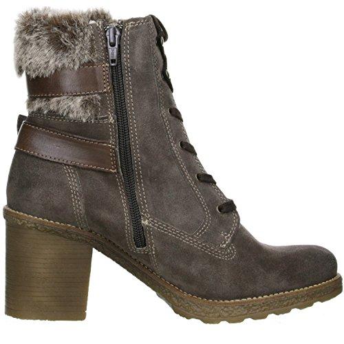 Klondike Damen Winterstiefel Stiefeletten Boots braun Braun