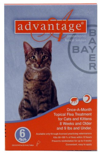 Advantage Cats <9 lb 6pk